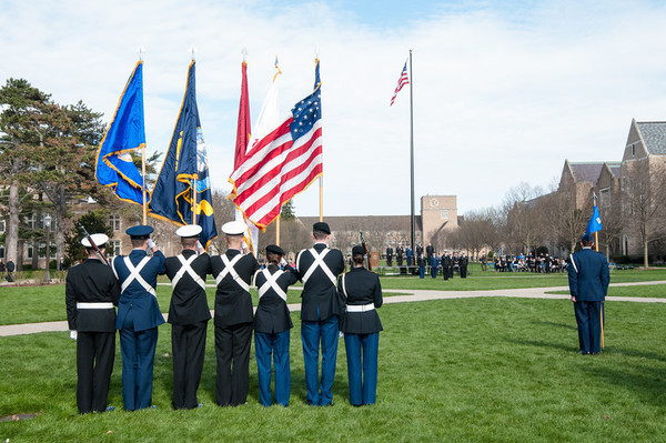 Pass And Review Honor Guard Detail