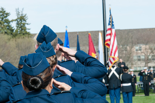 Pass And Review Salute