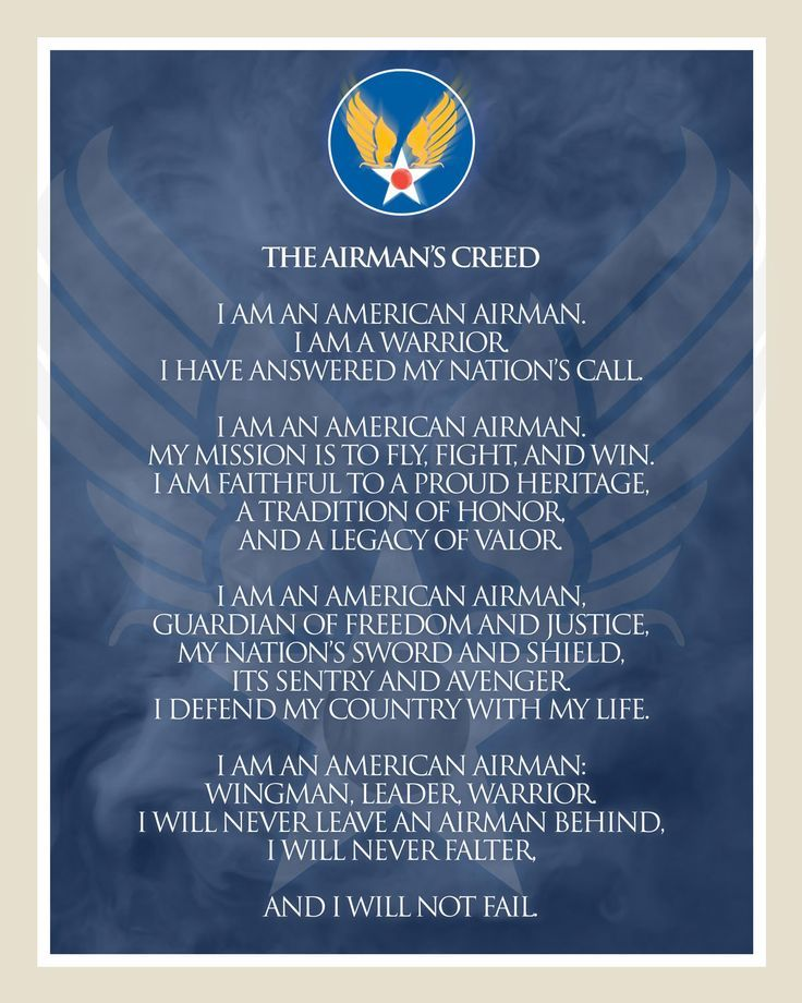 The Airmans Creed